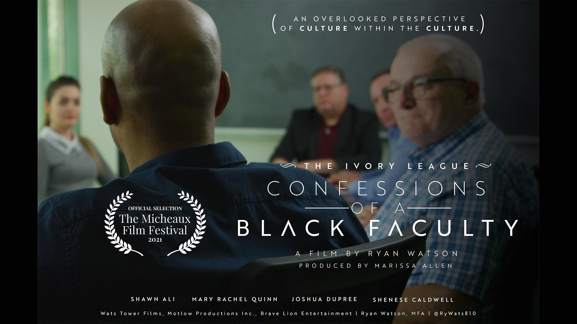 The Ivory League: Confessions of a Black Faculty